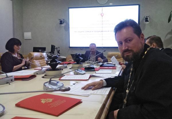Протоиерей Александр Дягилев принял участие в заседании Общественной палаты